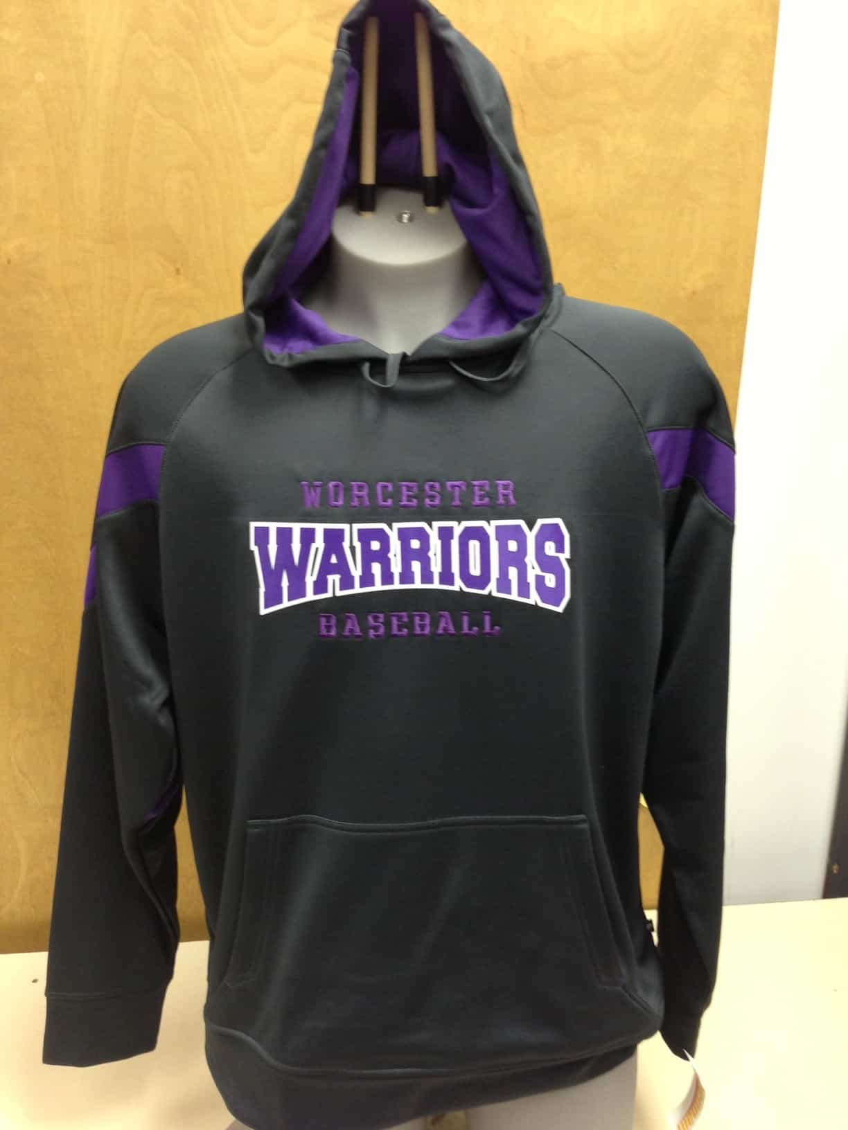 WARRIORS PERFORMANCE HOODIE