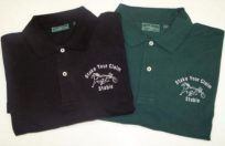 STAKE YOUR CLAIM MENS POLO