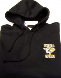 TRIBORO EMBROIDERED  HOODIE