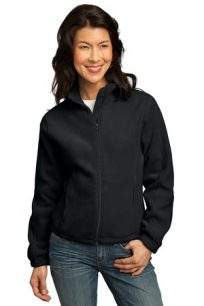 NEAG LADIES BLACK FLEECE  JCKT