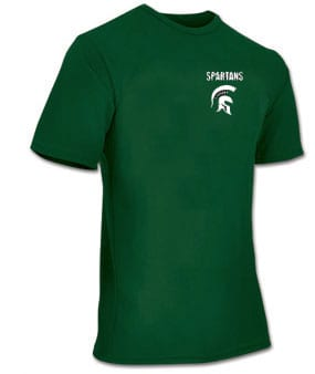 SPARTANS YOUTH  PERFORMANCE SHIRT