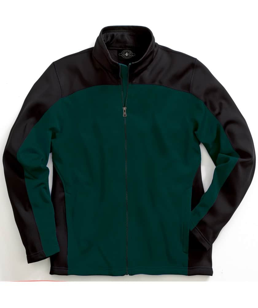 EMBROIDERED MENS SOFT SHELL JACKET
