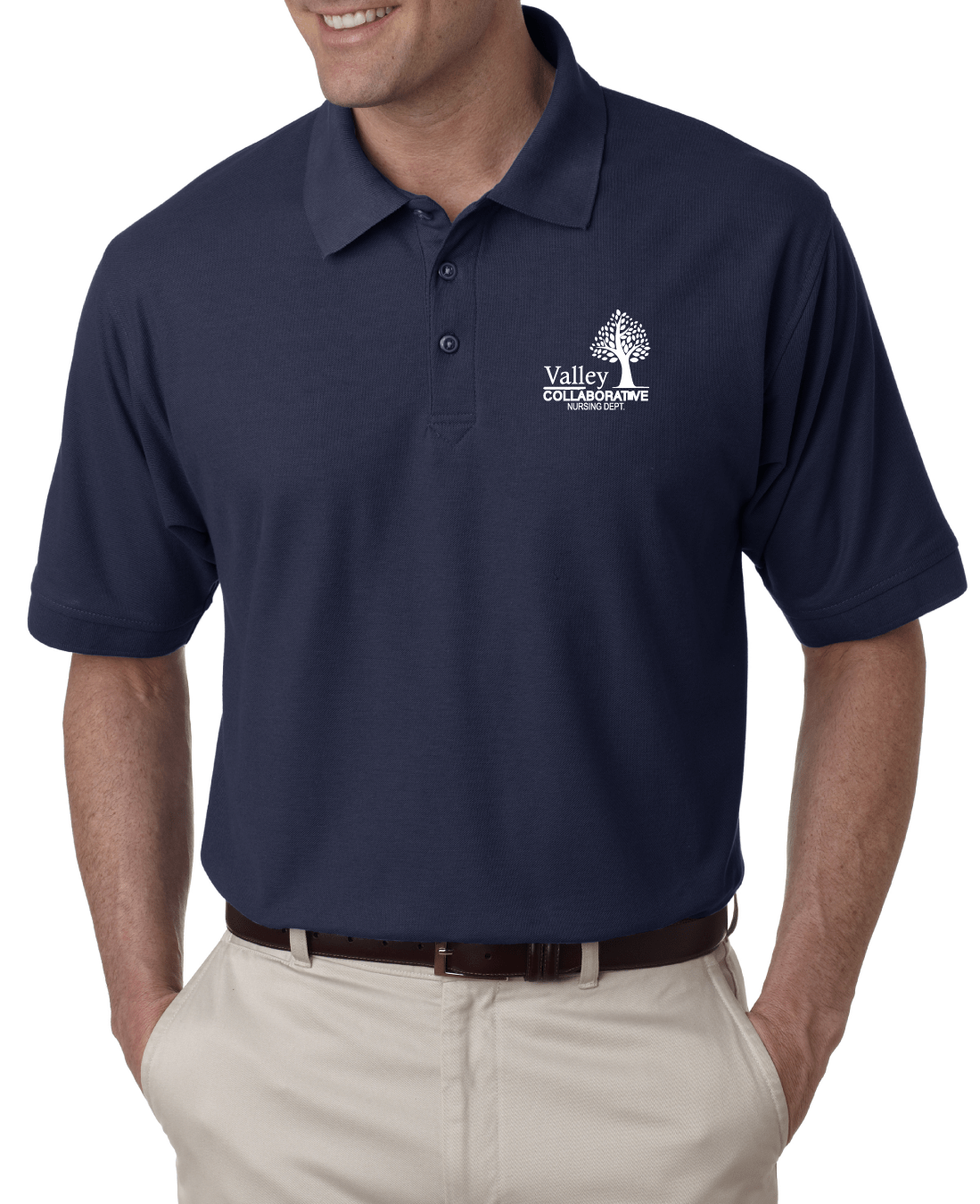 Valley Collaborative Embroidered Pique Polo Embroidery Unlimited