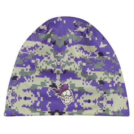 Junior Crusaders Embroidered Performance Digi Camo Beanie Black Or